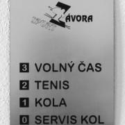 informační cedule do výtahu