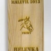gravírovaná dřevěná plaketa