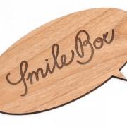 dřevěná cedulka pro SmileBox