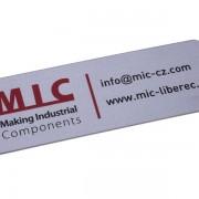 barevný informační štítek