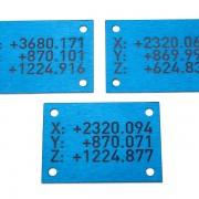 štítky se souřadnicemi